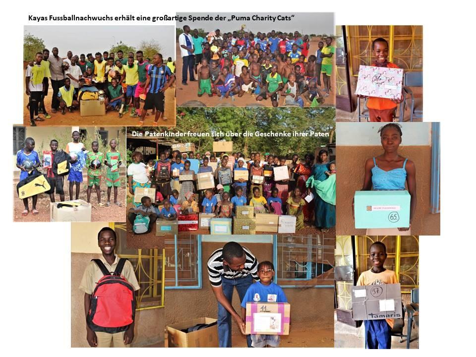 Spendencontainer 2018 hat Kaya erreicht